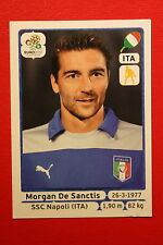 Panini EURO 2012 N. 317 ITALIA DE SANCTIS  NEW With BLACK BACK TOPMINT!!