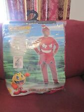 Blinky-Red Ghost-Pac Man Video Game-Deluxe Boys-Child Halloween  costume medium