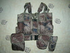 07's series China PLA Army Desert Digital Camouflage Combat Tactical Vest