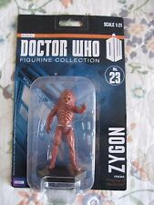 NEW DOCTOR WHO FIGURINE COLLECTION ACTION FIGURE ZYGON NO. 23 SCALE 1:21