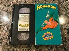 Aquaman Rare VHS! Super Powers Collection 1985