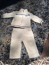 EUC Juicy Couture Baby Boys Grey Tracksuit Size 6-9 Months