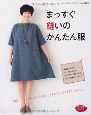 Straight Stitch Easy Clothes  - Japanese Craft Book