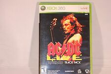 AC/DC Live: Rock Band Track Pack (Microsoft Xbox 360, 2008) Complete!