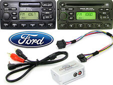 Ford Focus 1998-2004 AUX adapter lead 3.5mm jack in car iPod MP3 HTC CTVFOX001