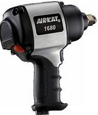 "Aircat Air Cat 1680 3/4"" Super Duty Impact Wrench Twin Hammer Quiet technology"