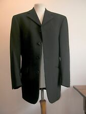 "RARE+VINTAGE 'REMUS UMO' BLACK WOOL BLEND BLAZER/JACKET 42""CHEST - SIZE 36R"