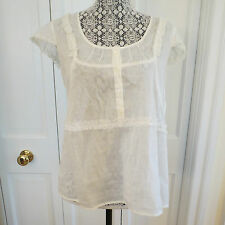 Adorable Marc by Marc Jacobs Ivory Blouse – 12 – NWT  $218