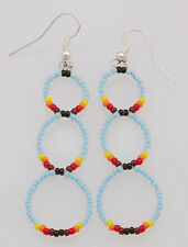 Native American Navajo Handmade Beaded Earrings