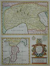 A new map of Gallia Cisalpina & Graecia Magna-E. Wells 1700-Impero romano