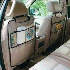 Car Auto Seat Back Protector Cover For Children Kick Mat Storage Bag A1