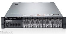 Dell PowerEdge R820 4x6-CORE XEON E5-4617 768GB RAM 2u Rack Mount Server 24 Core
