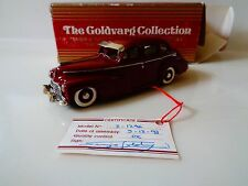 GOLDVARG COLLECTION -DIECAST- 1946 CHEVROLET- SIGNED CERTIFICATE -1:43 SCALE-NIB