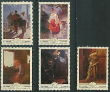 USSR Ukrain paintings (Mi. 4893-97)