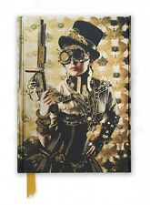 STEAMPUNK LADY - LINED JOURNAL - BRAND NEW - HARDCOVER 611140