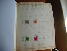 2 Scott 1936 Album Pages of Stamps Bavaria 1919 Rare icstamps Stamps1000-35