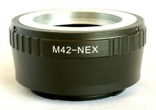 M42 Screw Mount to Sony E Lens Mount Adapter for NEX A6000 NEX 7 M42-NEX(Y)