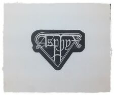 Asphyx Rock Band Sew On Patch Embroidered Iron Death Metal Music Applique Logo