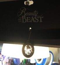 DISNEY BEAUTY AND THE BEAST ENCHANTED ROSE VELVET CHOKER Necklace NWT