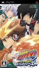 Used PSP Katekyoo Hitman Reborn! Battle Arena 2 - Spirits Burst Japan Import