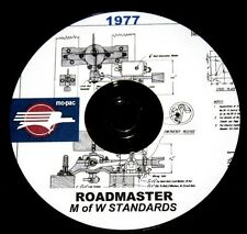 Missouri Pacific RR Roadmasters Maintenance of Way Standards PDF Pages on DVD