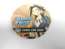 VINTAGE PROMO PINBACK BUTTON #94-019 - 2004 COMIC CON SHAMAN KING