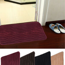 "24"" x 36"" Non-slip Back Rug Soft Bathroom Carpet Memory Foam Bath Mat 4 Color"