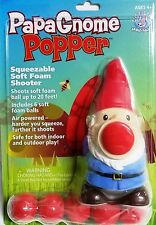 Hog Wild Papa Gnome Holiday Popper Christmas Foam Ball Launcher Toy