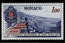 "MONACO #1091 MNH VF OG ""50th Anniv of Lawn Tennis Fed. of Monaco"" 1,00 Fr 1977"