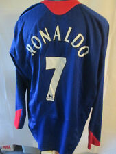Manchester United 2005-2006 Ronaldo 7 Away Football Shirt Size XXL LS /34282