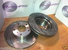 Slotted Disc Brake Rotors to suit Subaru WRX 2.5 Turbo STi Ultimate Performance