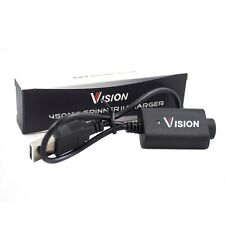Chargeur USB Vision 450mAh pour Batterie eGo Twist-Spinner-Evod-Kanger