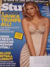 september 2006 Stuff #82 Ivanka Trump sexy cover Joanna Krupa + Leeann Tweeden