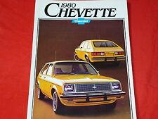 CHEVROLET Chevette kanadischer Prospekt von 1979