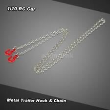 Metal Trailer Hook & Chain for 1/10 D90 Axial SCX10 RC Rock Crawler NEWEST W0Z5