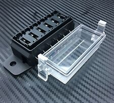 6 Way DC32V-12v Circuit Blade Fuse Box Block Fuse Holder MINI ATC ATO HMATC6Q