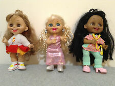 Playmates Little Cousins Doll Collection - Set of 9 !!