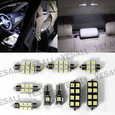 9x Canbus LED T10 Festoon Dome trunk Door Interior Lights Kit For VW Touran