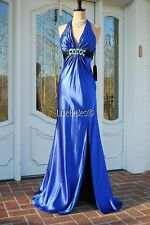 Royal Blue sz 4 La Femme Gown Dress for Prom Pageant Gala Ball Evening NWT