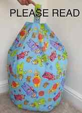 Childrens Character Telly Tubbie Beanbag Cover Only Kid Bean Bag Beenie Bedroom