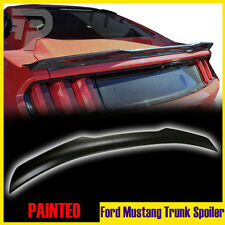 Painted Ford Mustang 6th GT 2D Coupe V Style Rear Trunk Spoiler GT V6 2015-2017