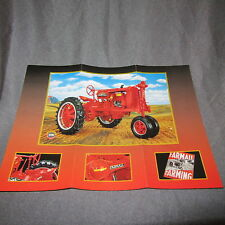 158C Dépliant 27 X 20 Franklin Mint Farmall H