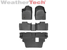 WeatherTech® Floor Mat FloorLiner - Dodge Durango w/ 3rd Row - 2011-2012 - Black