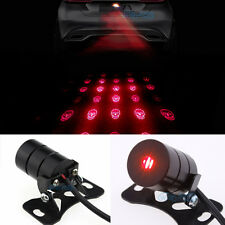 Skull Led Laser Fog Light Rear Anti-Collision Brake Tail lights Warning Lamp C