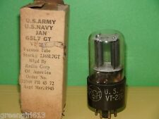 RCA 6SL7 GT VT-229 Vacuum Tube 1945  Very Strong K2E Results 2290/2000  µmhos