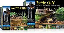 TURTLE CLIFF AQUATIC TERRARIUM FILTER & ROCK - LARGE