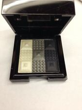 Stila Stay All Day 3D Wet-To-Set Eye Shadow Trio Thunder Cloud New In Box