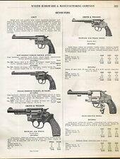 1927 ADVERT Colt Smith & Wesson Revolver Military Police US Army 1917