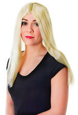 "18"" LONG UNISEX WIG IN ALL COLOURS FANCY DRESS"
