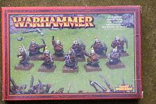 WARHAMMER DWARF MINERS METAL x10, BOXED